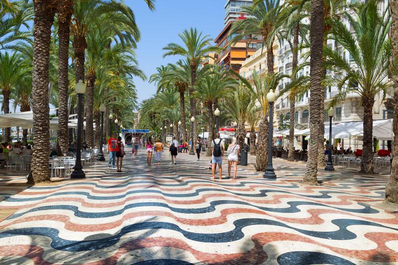 Spain, Alicante, Explanada